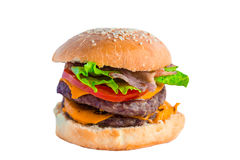 Burger. Royalty Free Stock Photography