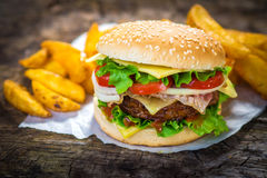Burger Stock Photos
