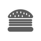 Burger icon vector stock illustration
