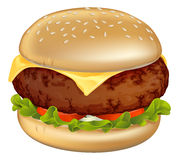 Burger illustration Stock Images