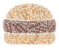 Burger illustration Stock Photos