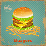 Burger Royalty Free Stock Photo