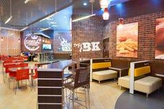 Burger King餐馆 库存照片