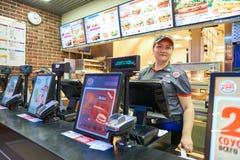 Burger King餐馆 免版税库存图片