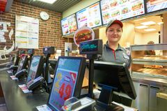 Burger King餐馆 图库摄影