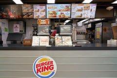 Burger King Royalty-vrije Stock Fotografie