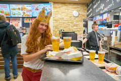Burger King Imagens de Stock Royalty Free