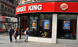 Burger King royalty-vrije stock foto