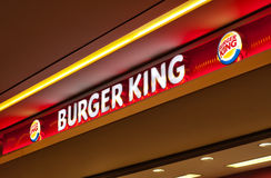 Burger King Royaltyfri Bild
