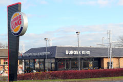 Burger King Royalty Free Stock Photography
