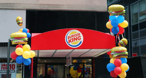 Burger King Stockfoto