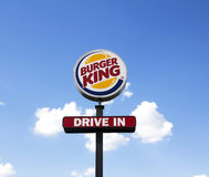 Burger King Στοκ φωτογραφία με δικαίωμα ελεύθερης χρήσης