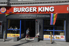 BURGER KING CELEBRATES COPENHAGEN PRIDE Stock Photos