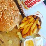 Burger King Combo stock photo