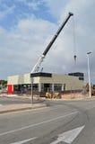 Burger King Construction Stock Image