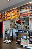 Burger King en España Fotos de archivo libres de regalías
