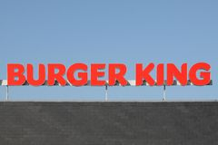Burger King  fast food chain Royalty Free Stock Photography
