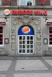Burger King fast food Royalty Free Stock Images