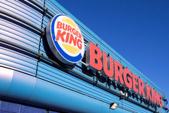 Burger King fast food restaurant Stock Photography