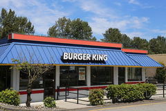 Burger king Royalty Free Stock Photos