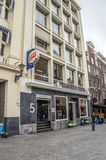 The Burger King At The Leidseplein Square At Amsterdam The Netherlands 2018 royalty free stock images