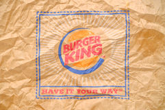Burger King Logo Stock Image