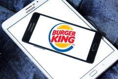 Burger king logo Royalty Free Stock Photography