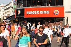 Burger King Stock Image