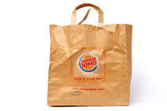 Burger King packaging Stock Photography