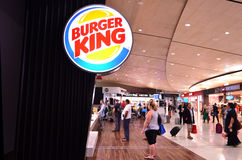 Burger King Restaurant Photos stock