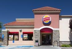 Burger King Restaurant Exterior Lizenzfreie Stockfotos