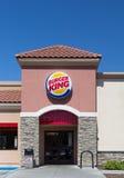 Burger King Restaurant Exterior Stockfotos