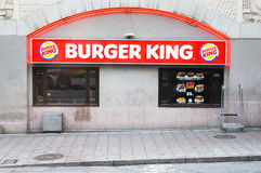 Burger King Restaurant Royalty Free Stock Photo