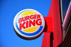 Burger King shield Royalty Free Stock Photos