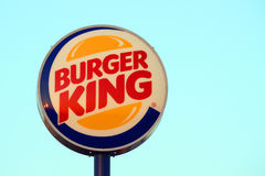 Burger King sign Royalty Free Stock Image