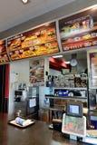 Burger King in Spanje Royalty-vrije Stock Foto's