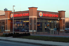 Burger King Szekesfehervar Royalty Free Stock Photos
