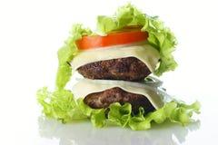 Burger lokalisiert stockfoto