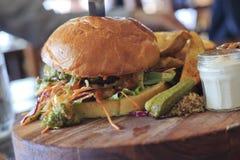 Burger 02 Stock Image
