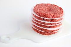 Burger Patties Royalty Free Stock Photography