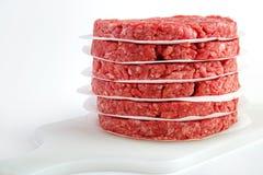 Burger patties Royalty Free Stock Image