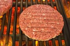 Burger patty Stock Photos