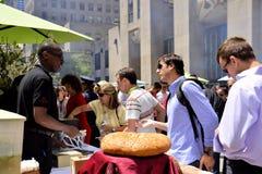 A burger, pelase ! Stock Image