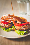 Burger Sandwich Stock Images