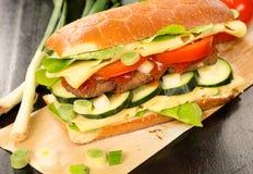 Burger sandwich Royalty Free Stock Photography