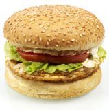 Burger series Royalty Free Stock Photos