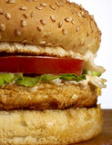 Burger series Royalty Free Stock Photography