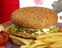 Burger series Royalty Free Stock Photo
