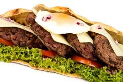 Burger sub Stock Images