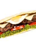Burger sub Stock Photography